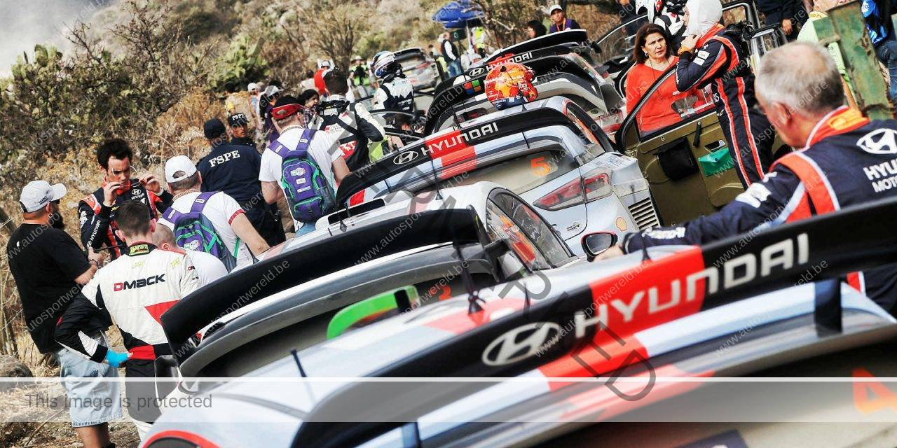 Neuville top in shakedown Mexico (video)
