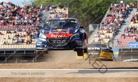 WK en EK Rallycross, start in Barcelona