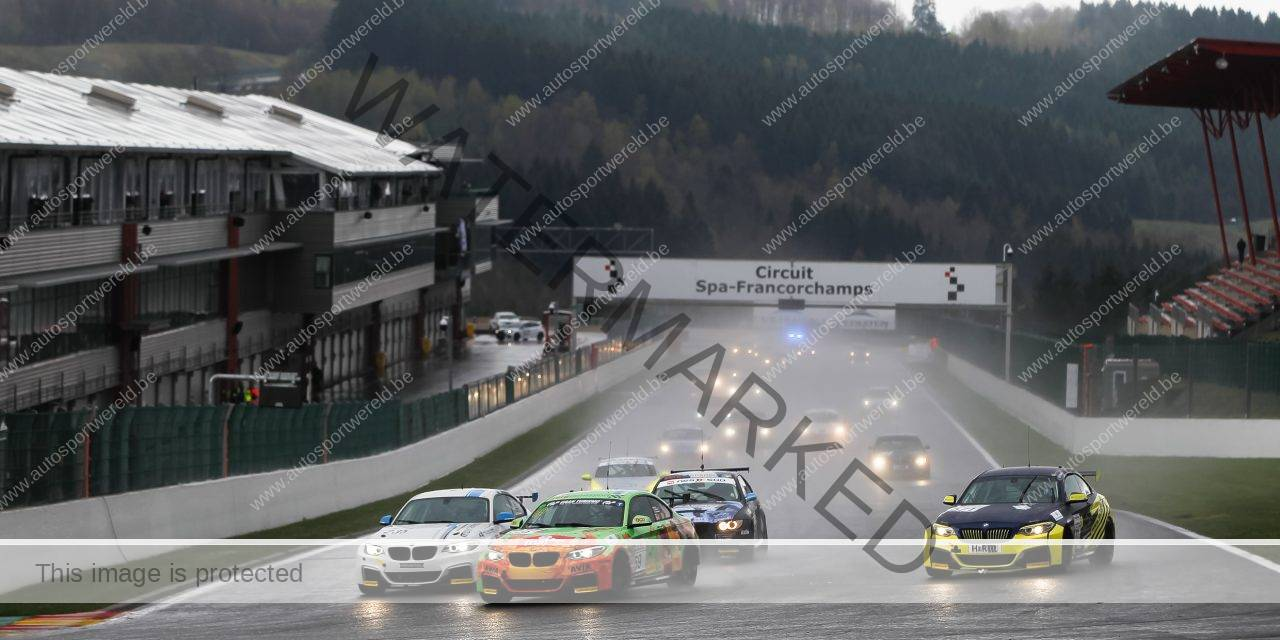 Mooie start van de BMW Racing Cups in Francorchamps