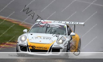 Bouvy en Porsche op pole in Spa 400