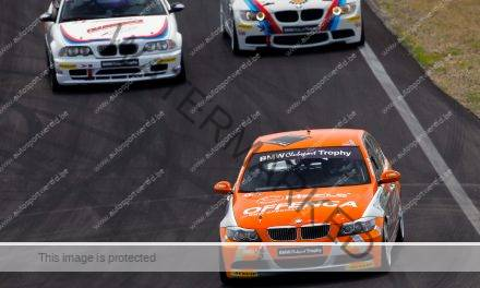 Spanning troef in BMW Racing Cups