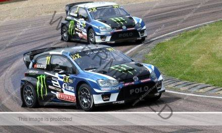Petter Solberg wint in Lydden