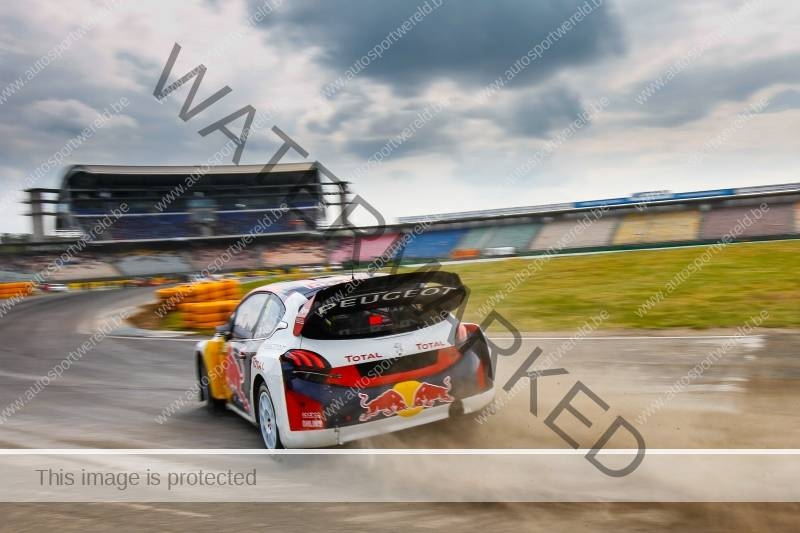 Loeb in pole naar de finales in Hockenheim