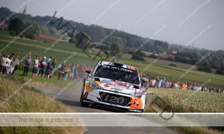 Timing Ypres Rally