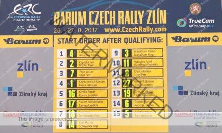 Lukyanuk wint kwalificatie in Barum Rally