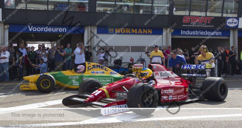 Historic Grand Prix Zandvoort met F1 demo door FORCE