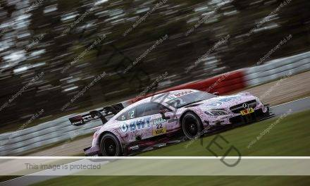 In een notendop: driemaal Mercedes in derde vrije training DTM