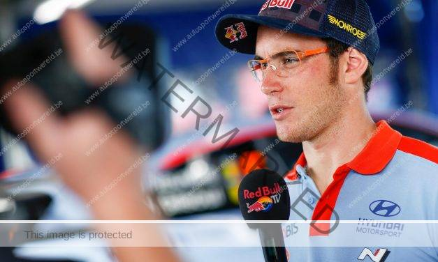 Neuville goed gestart down under