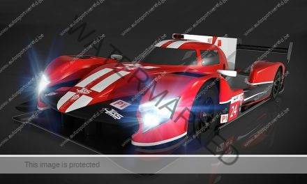 Video: eerste meters van de Ginetta LMP1