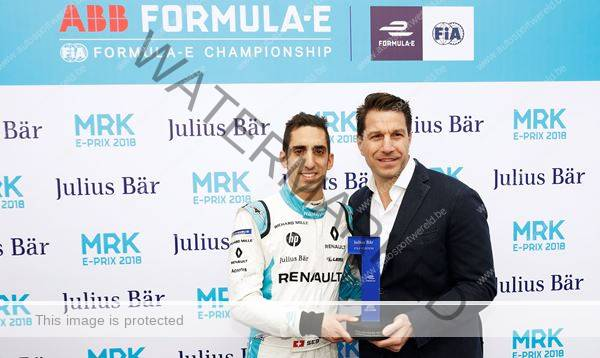 Buemi op pole in Formula e Marrakech