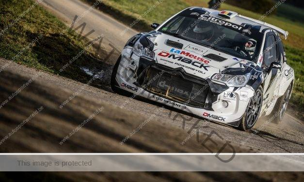 DMACK Trophy in Belgian Rally Championship 2018