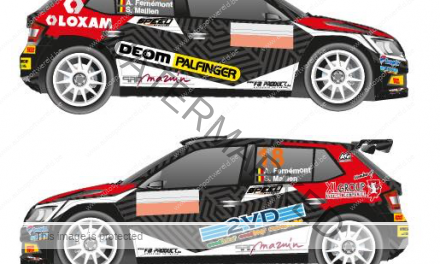 Ook Fernémont in Belgian Rally Championship