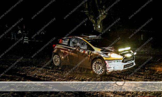 Cracco toch vijfde in Spa Rally