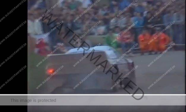 Video terug in de tijd: Belgian Rally Championship 1986
