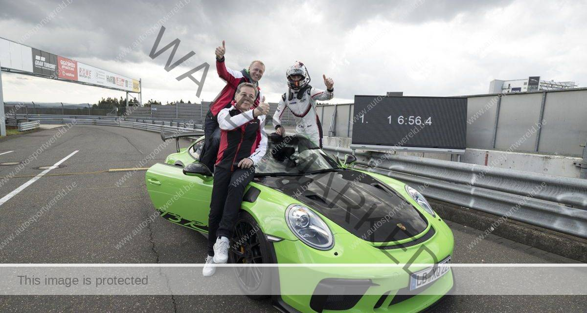Video: recordrondje op de Nürburgring