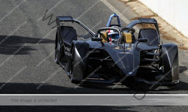 Succesvolle Formule E tests voor BMW in Calafat!
