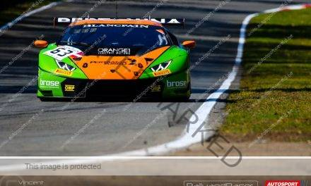 Stemmen na race 1 Blancpain GT Series Sprint Cup