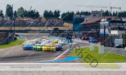 Video: de Nascar Euro Series in Italië