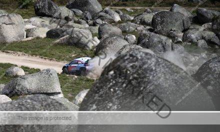 Neuville heerst in Portugal