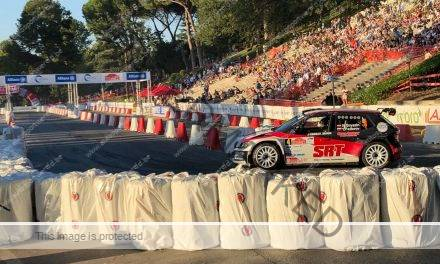 Gryazin beste in Rally di Roma showproef