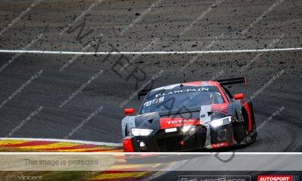 Total Spa 24 FLASH: Kapotte motor voor Audi #1