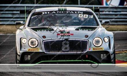 Spa 24: Bentley met vier topwagens