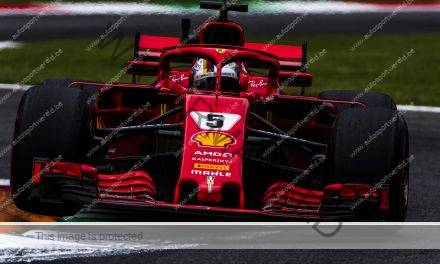 In een notendop: Ferrari boven in Monza, zware crash Ericsson