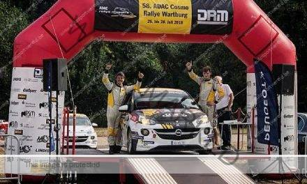 Munster wint in ADAC Opel Adam Cup