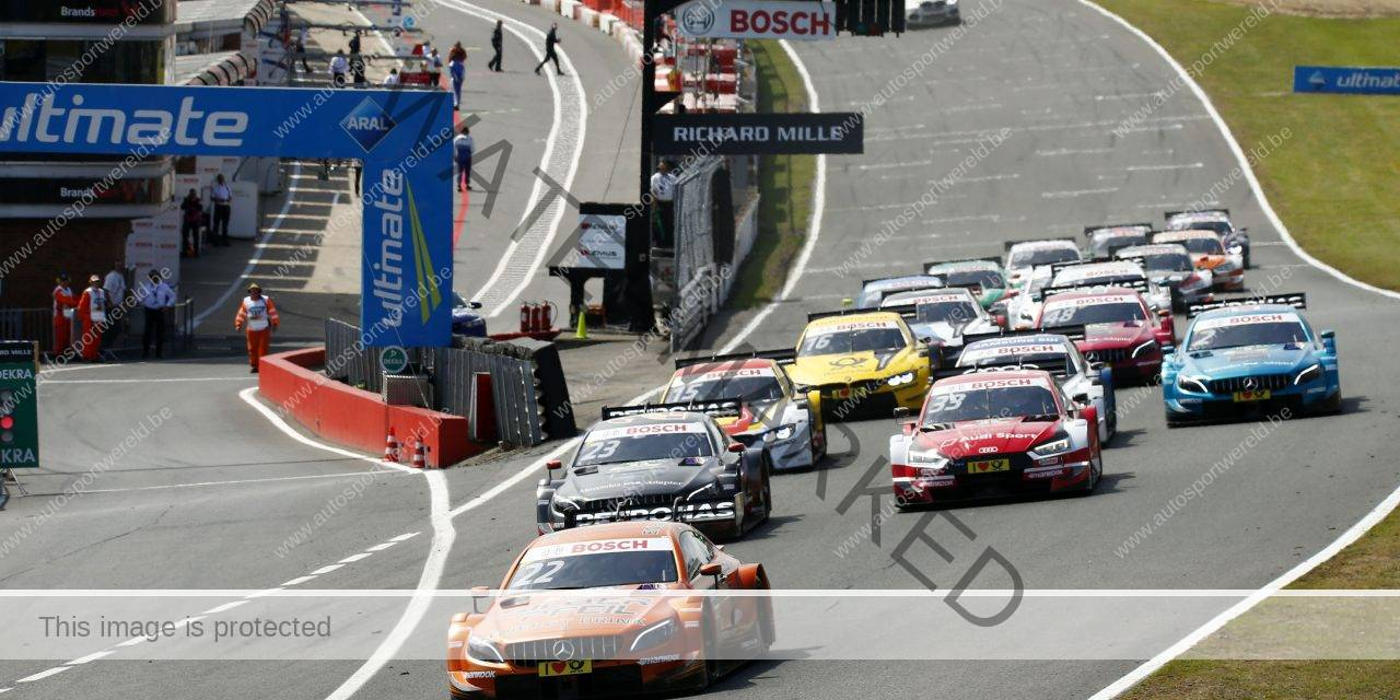 DTM: Di Resta zegeviert in Brands Hatch