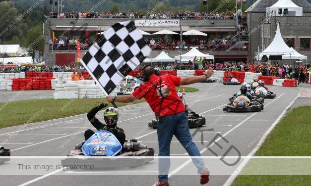 M Racing Experience naar de top in de 24 Uren Karting van Francorchamps