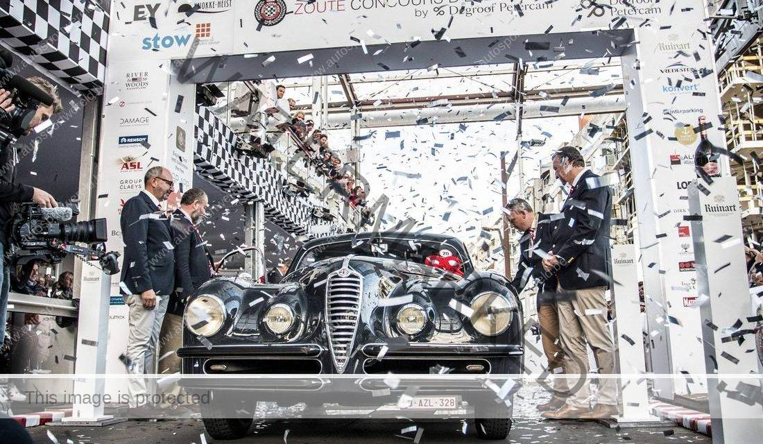 "Alfa Romeo wint ""Best of Show"" op de Zoute Grand Prix"