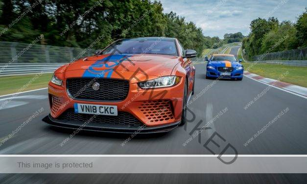 Jaguar XE SV Project 8 wordt Ring Race Taxi