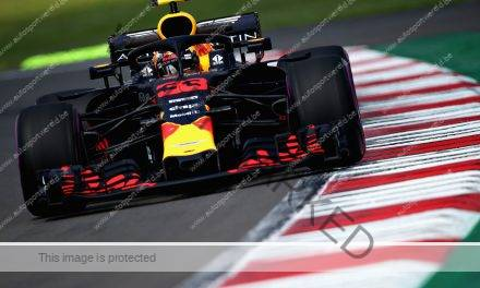 F1: Red Bull bovenaan in Mexico