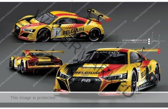 FIA GT Nations Cup: Belgian Audi Club Team WRT met onuitgegeven bezetting