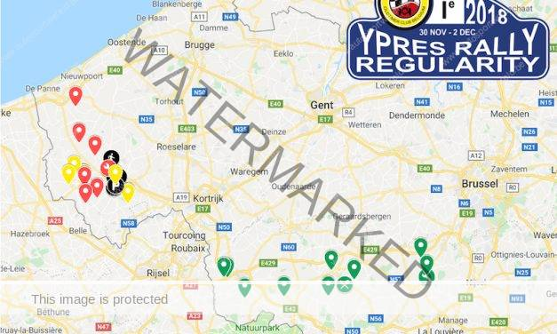 Ypres Rally Regularity: het geheime parcours onthuld…
