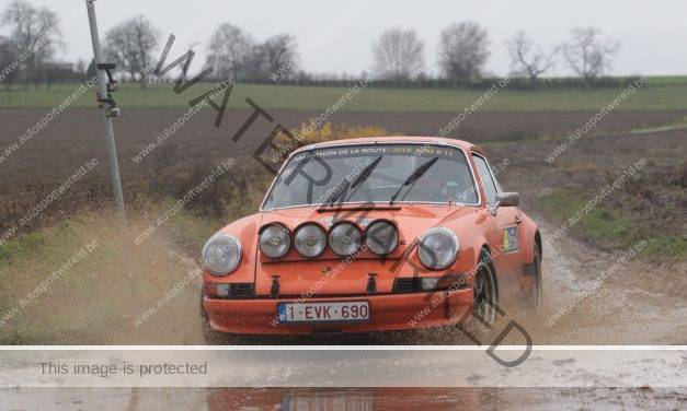 Ypres Rally regularity: Yves Deflandre opent het palmares