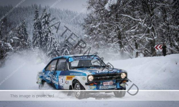 Veel Belgen in Romanian Historic Winter rally