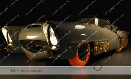 De Golden Sahara vintage concept car by Goodyear