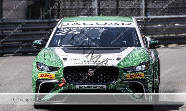 Jaguar I-PACE eTROPHY: elektrisch en close racing