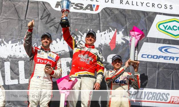 Rallycross: Duval wint in Chateauroux