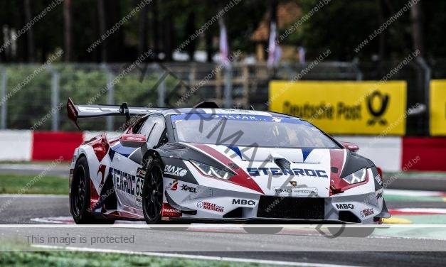 Ward Sluys met zege in STENROC Racing Lamborghini Huracan