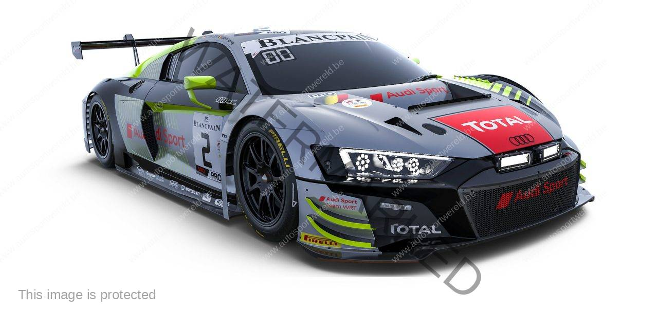 Total Spa 24: de looks van de elf Audi R8 LMS