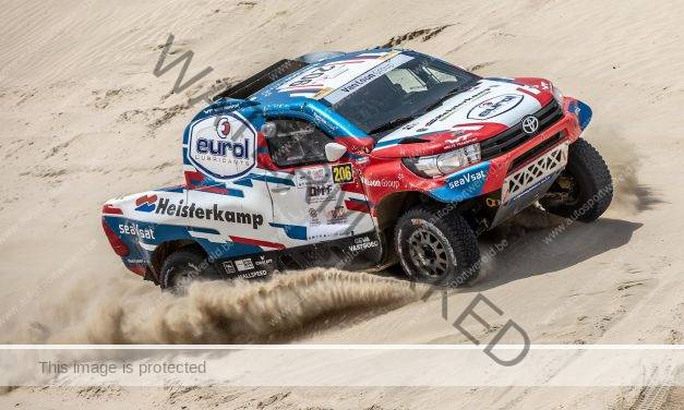Rally-Raid: Overdrive wil zege in Silk Way