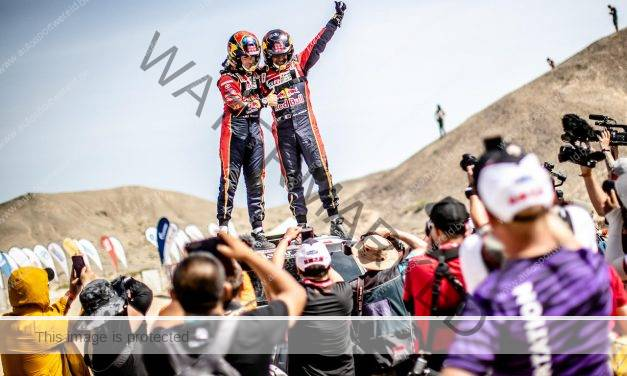 Silk Way Rally: Nasser Al-Attiyah met recordzege