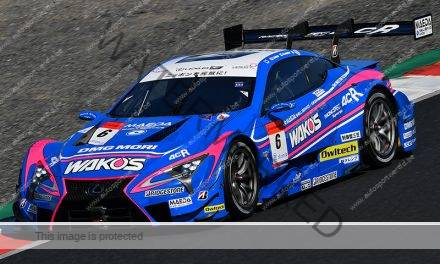 In een notendop: SuperGT (Fuji)