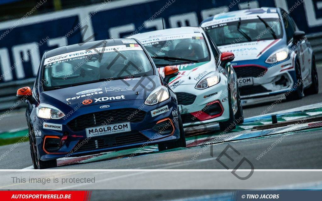Gamma Racing Days: Ford Fiesta Cup race 2 in beeld
