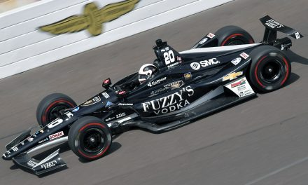 Carpenter met derde Indy500 pole